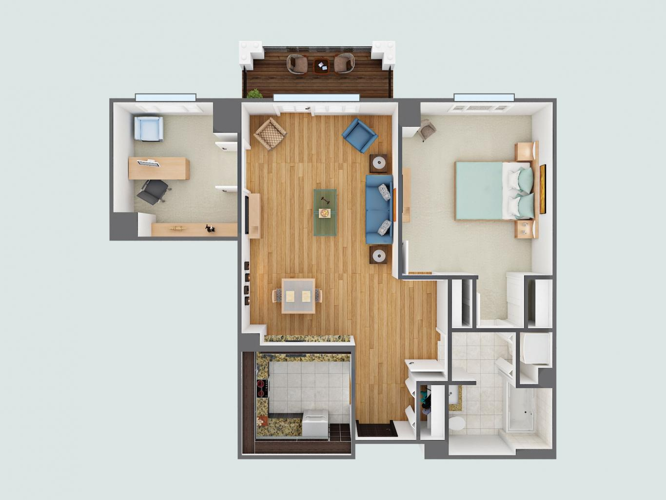 Birtch floor plan