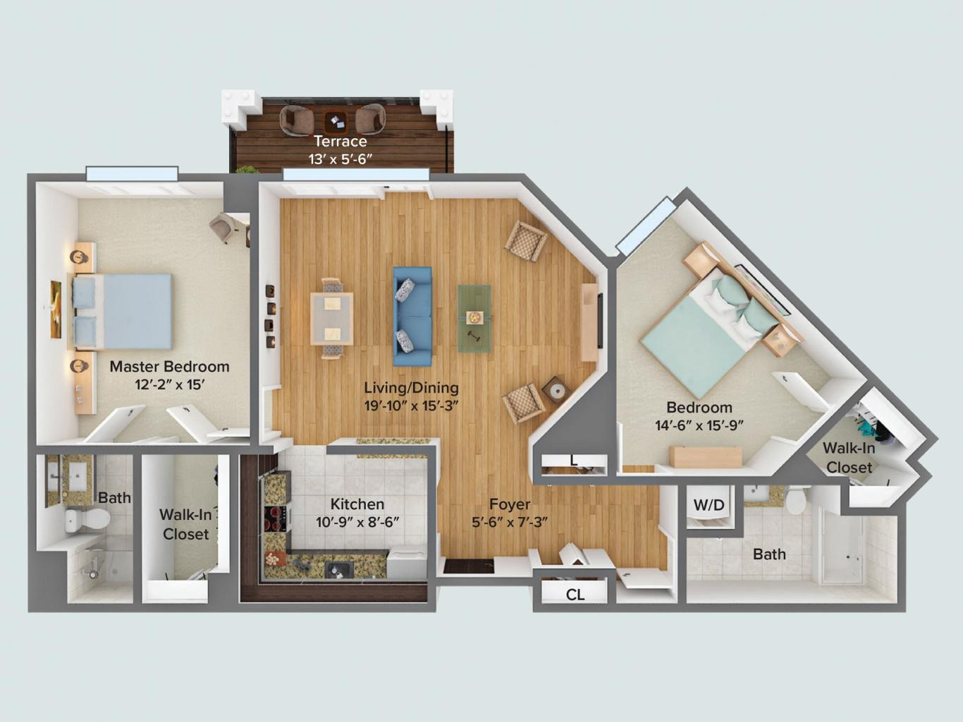 Basswood floor plan
